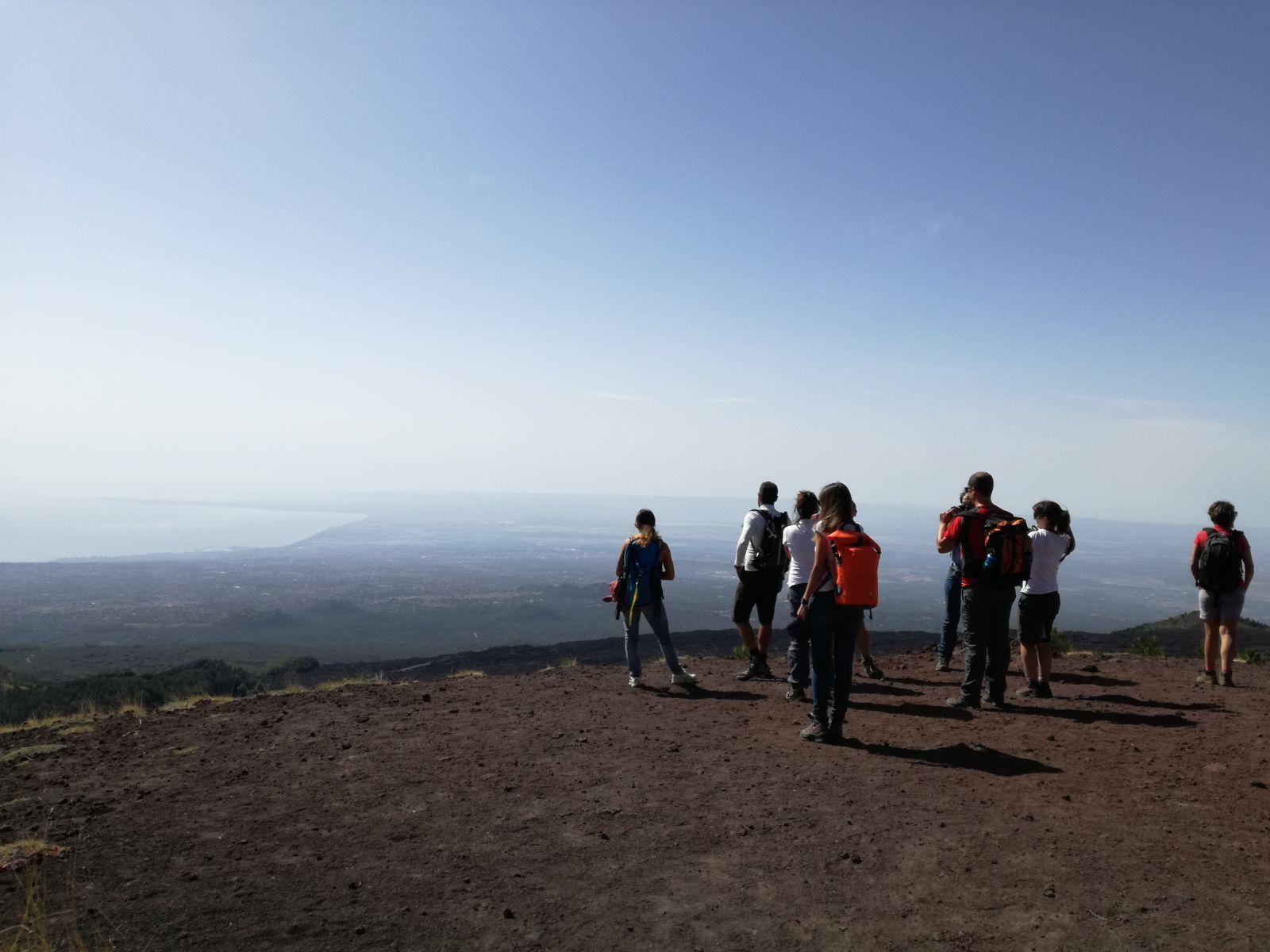 Etna – Hiking the Path of the Donkey's Back. Valle del Bove e Schiena dell'Asino