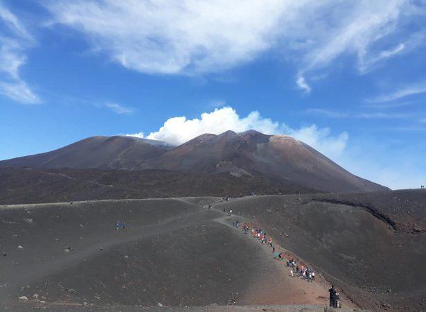 Etna Kratery Centralne – Kolejka Kablowa i Jeep