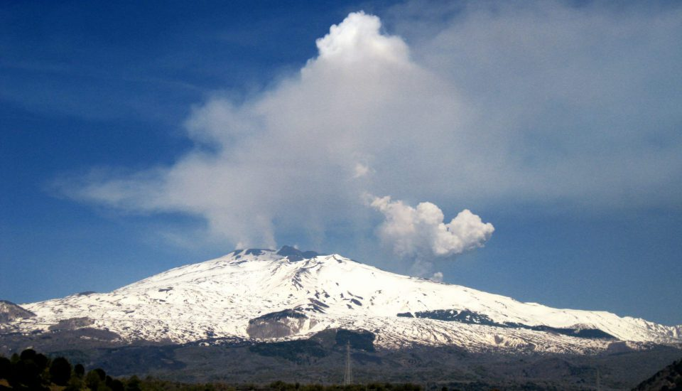The most disastrous eruptions in the history of Mount Etna.