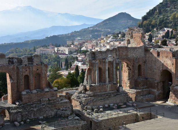 Etna i Taormina