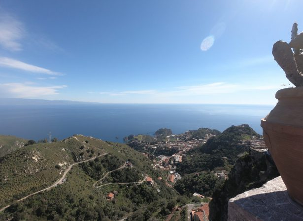 Taormina i Castelmola z innej perspektywy.